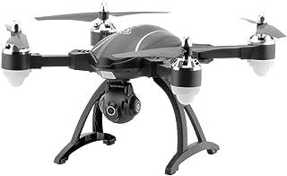 EisEyen Mini cuadricóptero con 720p HD cámara Mando a LSM900LED dron Avión GPS Tracker Flotante Función Sin Cabeza Modo para Principiantes WiFi FPV