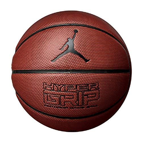 Nike Jordan Hyper Grip 4P Basketball Ball (7, brown)