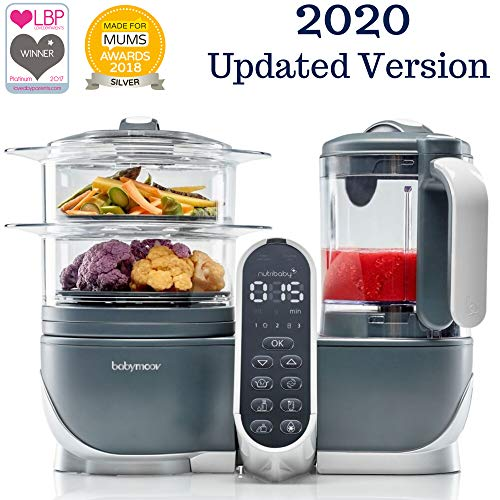 Duo Meal Station Food Maker | 6 in 1 Food Processor with Steam Cooker, Multi-Speed Blender, Baby Purees, Warmer, Defroster, Sterilizer (2021 UPDATED VERSION)