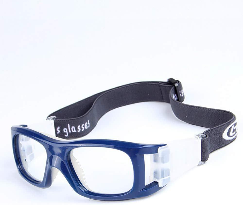 JUSTDOIT Gafas Deportivas, Adultos Gafas Protectoras Gafas de Seguridad Gafas de Seguridad para Correr Ajustable para Las Gafas de Baloncesto Fútbol Baloncesto Amateurs Tenis y Otros Deportes