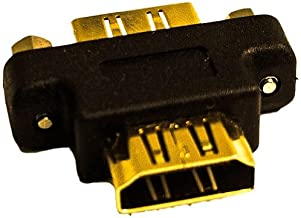Calrad 35-708 Chassis Mount HDMI Feedthru Coupler Female-Female 35708