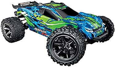 Traxxas Rustler 4X4 VXL: 1/10 Scale Stadium Truck with TQi Link Enabled 2.4GHz Radio System & Traxxas Stability Management (TSM)