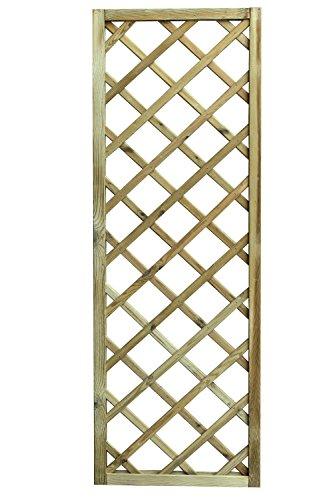Avanti Trendstore - Ermes - Rankgitter aus imprägniertem Holz, in 3 verschiedenen Größen verfügbar (60x180)