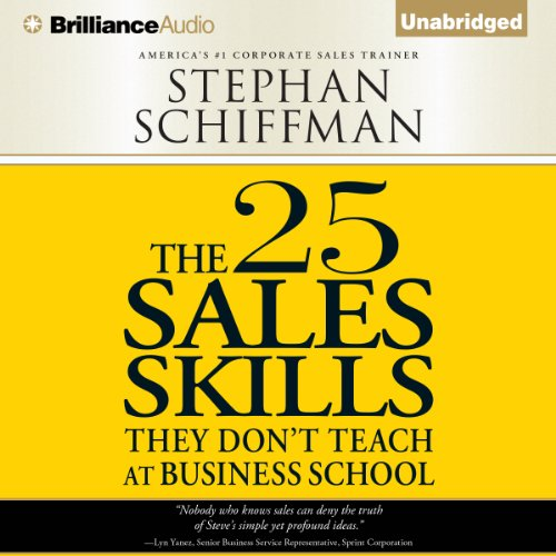 The 25 Sales Skills audiobook cover art
