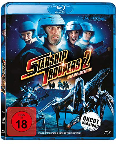 Starship Troopers 2 - Held der Föderation - Uncut Version [Blu-ray]