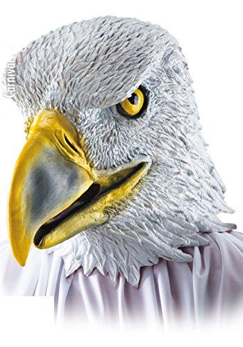 Masque d'Aigle Faucon - Adulte - Taille Unique - Halloween - 1077