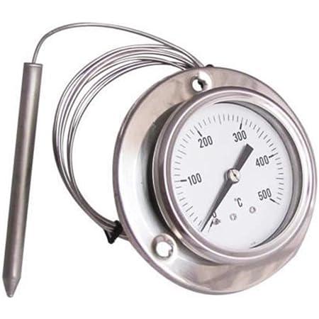 EASTVAPS 0-500° C Thermomètre pour Four Barbecue INOX PYROMÈTRE à sonde