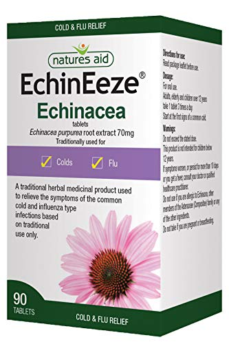 Echinacea 90 Vegan Tablets, Relief of The Common Cold