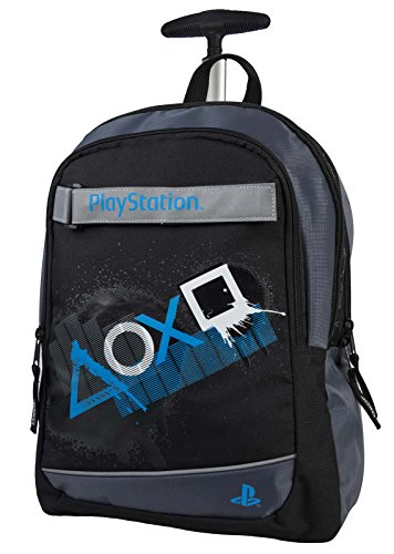 Target Trolley Playstation para portátil, 41 cm, Negro (Nero)