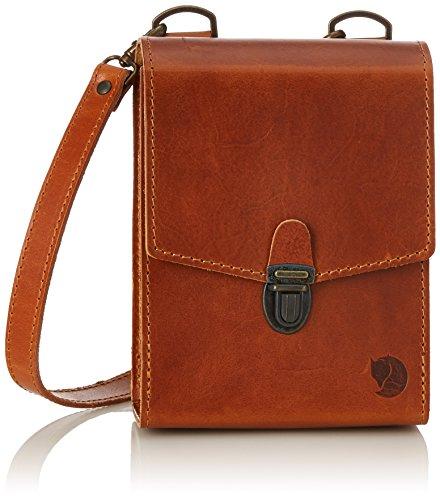 Fjällräven Unisex Volwassenen Singi Bino Bag verrekijker, Brown (Leather Cognac), 24x36x45 centimeter