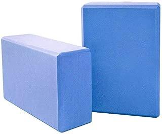 Bloodyrippa Yoga Blocks Set of 2, High Density EVA Foam Bricks, Lightweight & Moisture Proof, Helpful to Promote Balance, Improve Strength, Support Poses, 8.86'' x 5.7'' x 2.95''