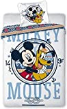 Disney Mickey Mouse 071 - Biancheria da lettino, 100 x 135 cm