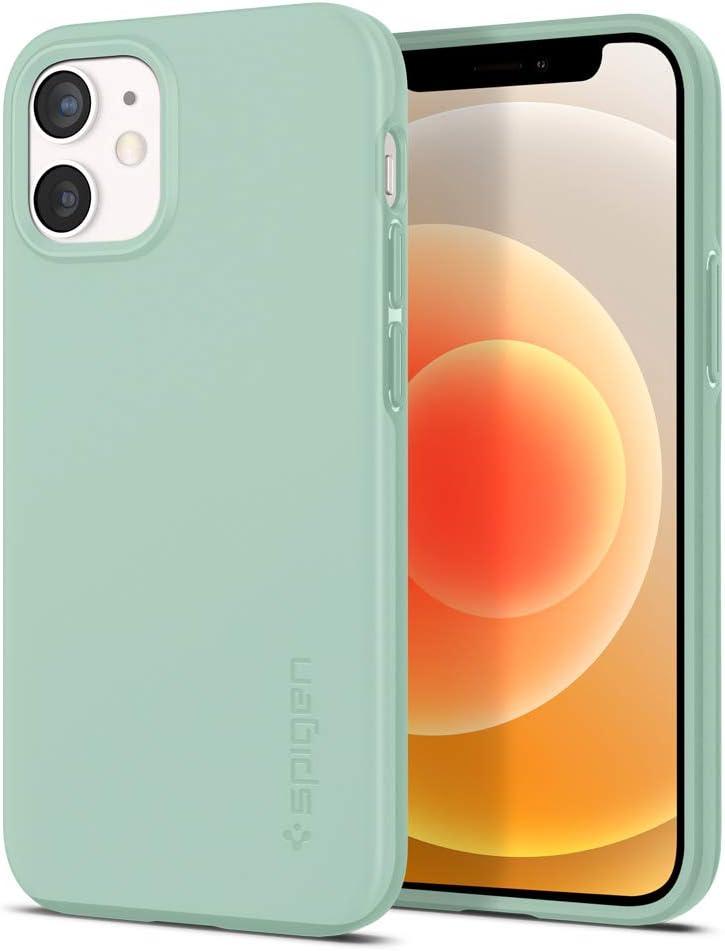 Spigen Thin Fit Designed for Apple iPhone 12 Mini Case (2020) - Mint