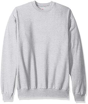 Hanes Men s EcoSmart Sweatshirt ash Large