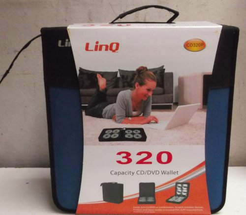 Borsa Raccoglitore Porta Cd Dvd DJ 320 Posti LINQ