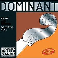 Thomastik-Infeld 147.34 Dominant Cello Strings Complete Set Medium Tension 3/4 Size [並行輸入品]