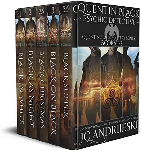Quentin Black: Psychic Detective (Quentin Black Mystery Series #1-3): A Fated Mates Paranormal Mystery Romance (Quentin Black Mystery Box Sets Book 1) (English Edition)