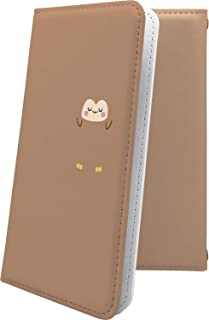 ZenFone4 ZE554KL ケース 手帳型 フクロウ 動物 動物柄 アニマル どうぶつ ゼンフォン ゼンフォーン ゼンフォン4 手帳型ケース ロゴ ワンポイント ロゴ入り zenfone 4 キャラクター キャラ キャラケース