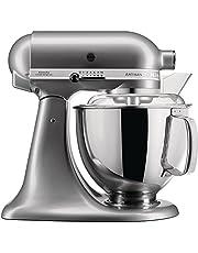KitchenAid Keukenmachine Artisan 4,8L contour zilver