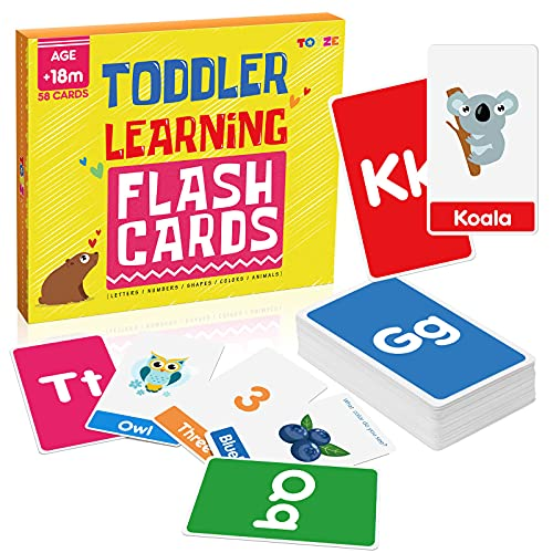 Hotikin Toys for 1 2 3 4 5 6 Year Old Boys Girls, Flash Cards for Toddlers...