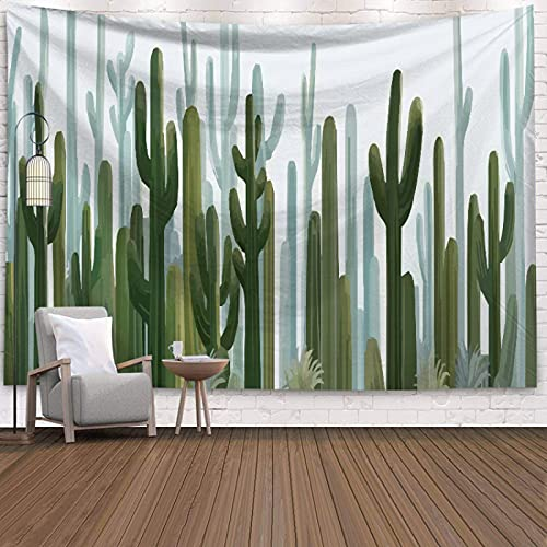 DSman Wall Hanging Tapestry, Cactus art background cloth decorative wall