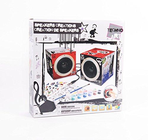 Techno Art Lautsprecher Creation Jungen