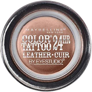 (Pack of 2) Maybelline Eye Studio Color Tattoo Leather 24Hr Cream Gel Eyeshadow Creamy Beige