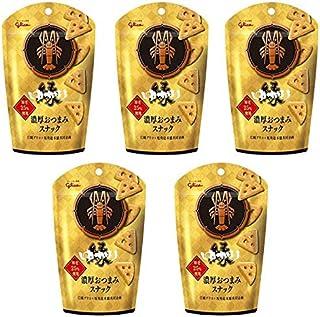 【販路限定品】江崎グリコ ゆかり<濃厚おつまみスナック> 40g×5袋 おつまみチーズ ワインに合う スナック菓子