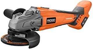 Ridgid 18-Volt Cordless Brushless 4-1/2 in. Angle Grinder (Tool-Only)(Bulk Packaged) (Renewed)