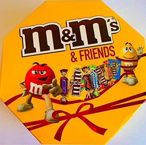 M&M'S & Friends - Caja de regalo con mensaje