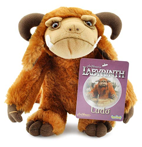 Toy Vault Ludo Plush Figure from Labyrinth, 9-Inch Stuffed Toy Creature