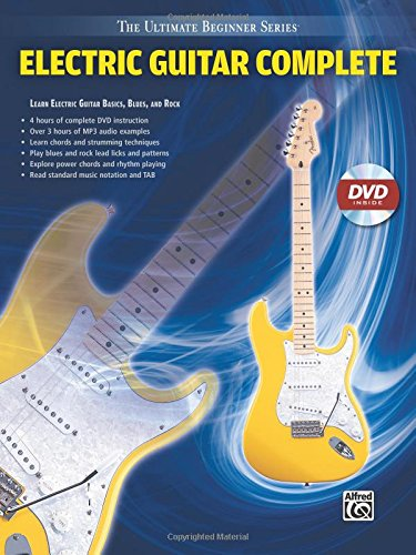 Ultimate Beginner Electric Guitar Complete: Steps One & Two (Book & DVD (Sleeve)) (The Ultimate Beginner)