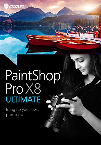 PaintShop Pro X8 Ultimate [Téléchargement]