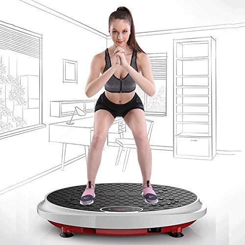 ZOUSHUAIDEDIAN Entrenamiento completo del cuerpo de la vibración de la plataforma de la máquina de masaje Trainer Silent Drive Motor |Ideal for máquina de viraje y pérdida de peso, la tarjeta de sumin