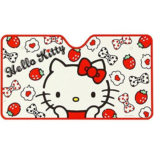 [Hello Kitty] Front sun shade Berry