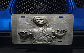 Cool Carbonite Print Aluminum License Plate for Car Truck Vehicles