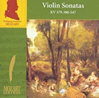 Violin Sonatas Kv 379-380-547