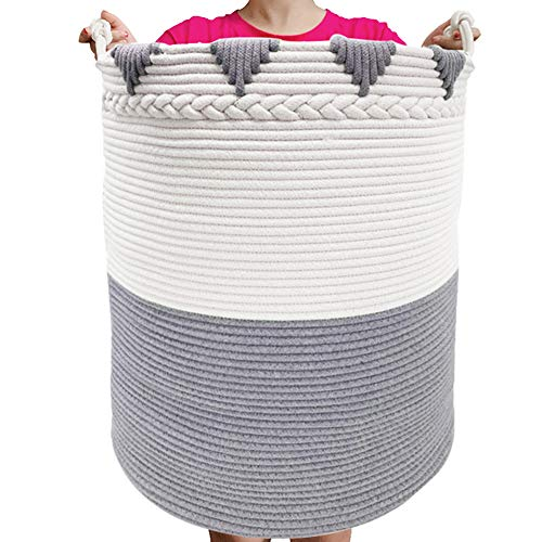TerriTrophy XXXL Large Laundry Hamper with Handles 22