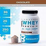 Bodybuilding Signature 100% Whey Protein Powder   25g of Protein per...