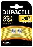 Duracell LR54, 2 Pilas Bouton Lithium