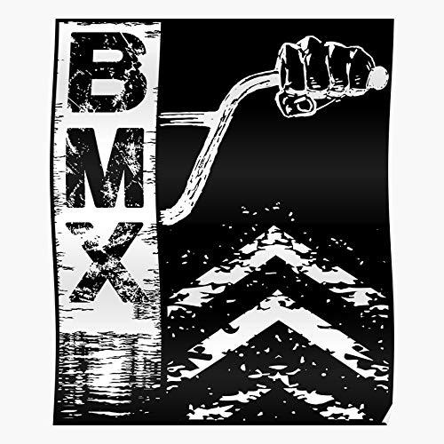 Action Fashion Extreme Bars BMX Sports Flatland Freestyle Il Poster di Decorazione per Interni più Impressionante ed Elegante Disponibile di Tendenza Ora
