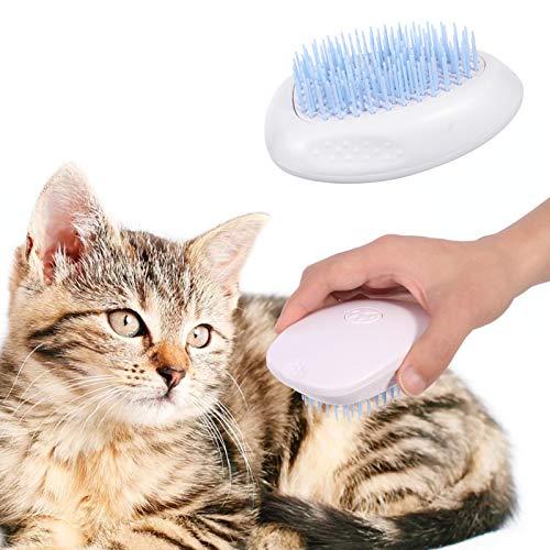 Hundebürste Katzenbürste Haustierkamm Slicker Pet Grooming Brush,Waschbare Pflege Shedding Massage Badebürste für Hunde und Katzen mit Langen oder kurzen Haaren