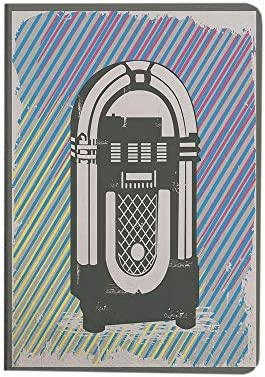 Jukebox iPad Air 4 Case 2020 iPad 10 9 Case Radio Party Dark Grey Vintage Music Box with Abstract product image