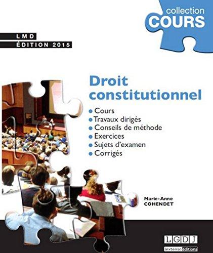 Droit constitutionnel, 2ème Ed.