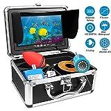 HBUDS Unterwasser Fischfinder Kamera, HD Angelkamera 15M für Meeresangeln Eisangeln Bootsangeln,...