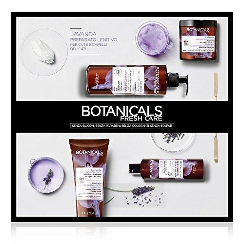 L'Oréal Paris Cofanetto Regalo Natale, Trattamento Completo per Capelli Delicati Botanicals Lavanda, Include 4 Prodotti