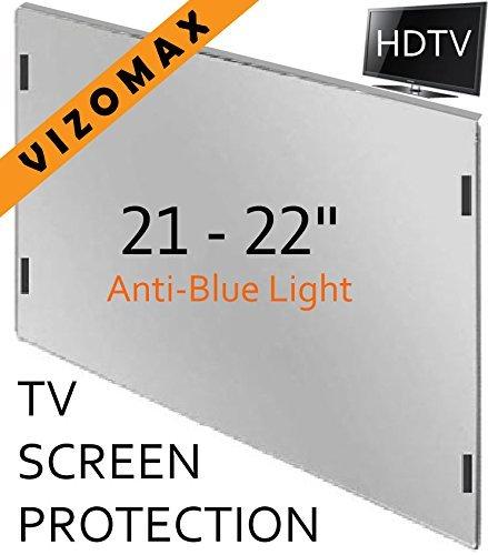 21 - 22 inch Anti-blue Light Vizomax Computer Monitor / TV Screen Protector Filter for LCD, LED & Plasma HDTV