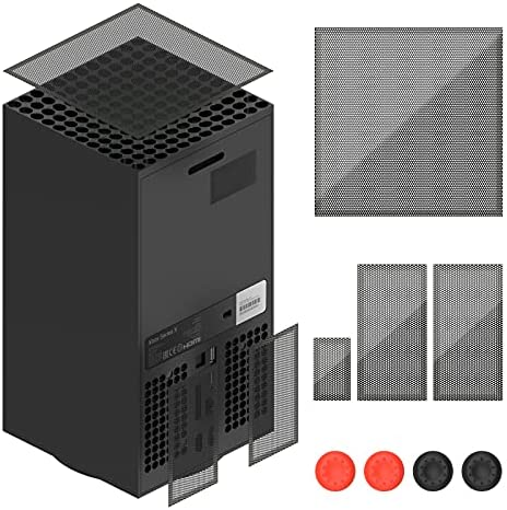 Dust Filter for Xbox Series X, Dust Filter Cover Top Case Dust Proof Filter Cover for Xbox Series X- 2 Pack