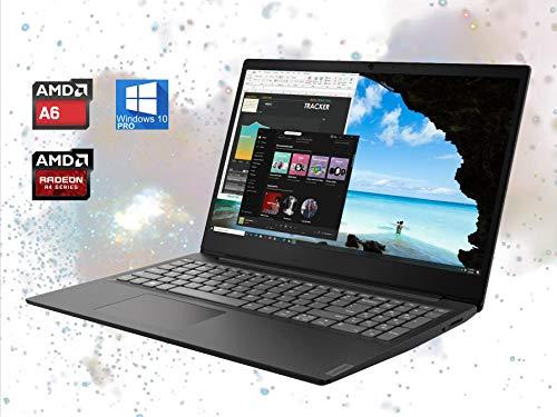 Lenovo IdeaPad S145 15.6' Laptop Computer: AMD Core A6-9225 Upto 3.1GHz, 8GB RAM, 256GB NVMe SSD + 500GB HDD, 802.11AC WiFi, Bluetooth 4.2, Card Reader, Webcam, HDMI - Windows 10 Pro