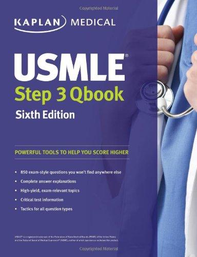 USMLE Step 3 QBook (USMLE Prep)SIXTH EDITION